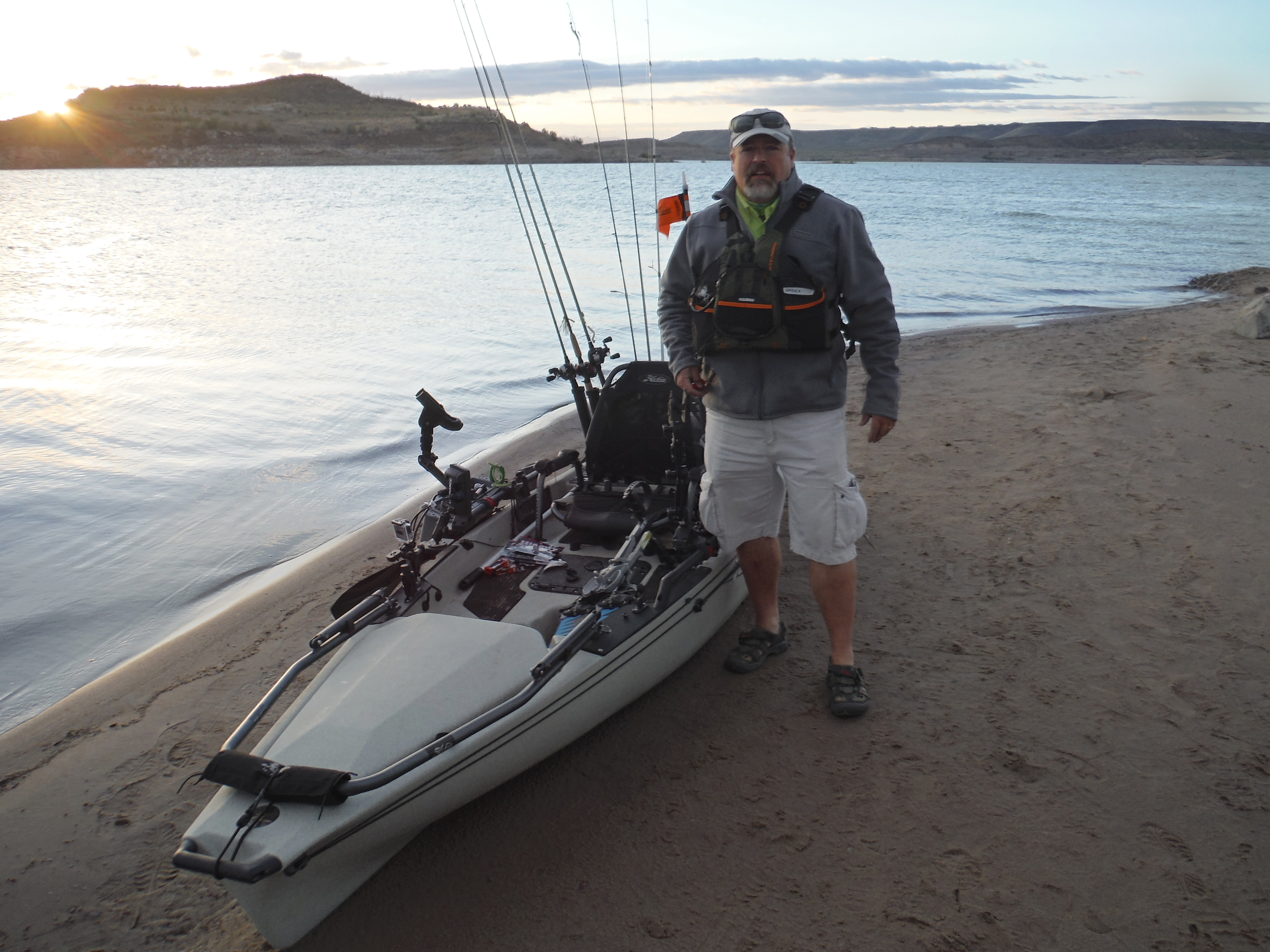 Elephant butte 2nd annual kayak tournament untamed sportsman for Kayak fishing tournaments